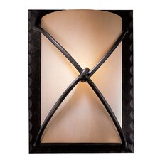 Aspen 1 Light Rectangular Wall Sconce