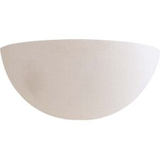 Half Moon 1 Light Wall Sconce