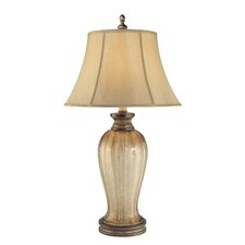 "La Cecilia 34.5"" H Table Lamp with Bell Shade"