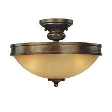 Atterbury 3 Light Semi Flush Mount
