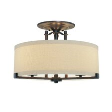 <strong>Minka Lavery</strong> Ansmith 3 Light Semi Flush Mount