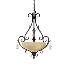 Bellasera  Chandelier in Castlewood Walnut with