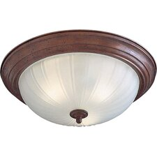 <strong>Minka Lavery</strong> 3 Light Flush Mount