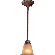Belcaro 1 Light Rod Drop Mini Pendant