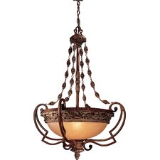 Belcaro 4 Light Foyer Inverted Pendant