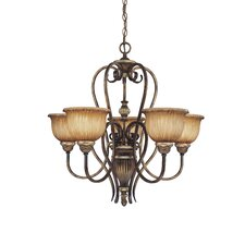 Raffine 5 Light Chandelier