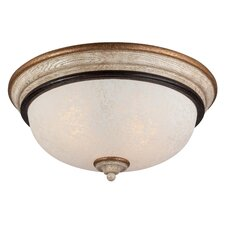 Accents Provence 2 Light Flush Mount