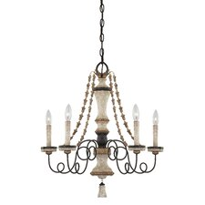 Accents Provence 5 Light Chandelier
