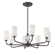 <strong>Minka Lavery</strong> Modern Continental 8 Light Chandelier
