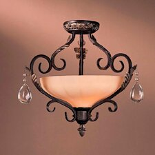 Bellasera 2 Light Semi Flush Mount