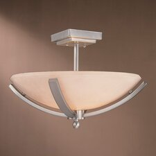 <strong>Minka Lavery</strong> 2 Light Semi Flush Mount