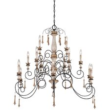 Accents Provence 15 Light Chandelier