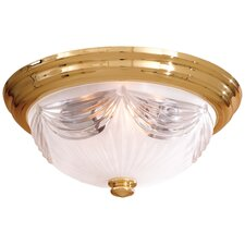 <strong>Minka Lavery</strong> Contractor Series 1 Light Flush Mount