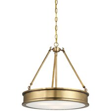 Harbour Point 3 Light Drum Pendant