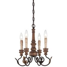 <strong>Minka Lavery</strong> Preston Ridge 4 Light Mini Chandelier