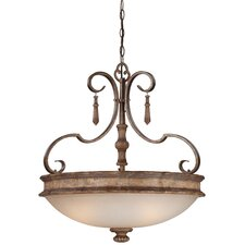Abbott Place 3 Light Bowl Pendant