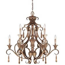 <strong>Minka Lavery</strong> Abbott Place 9 Light Chandelier