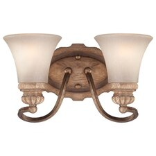 <strong>Minka Lavery</strong> Abbott Place 2 Light Bath Vanity Light