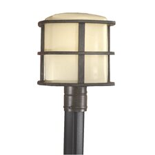 "<strong>Minka Lavery</strong> 1 Light 10"" Outdoor Post Lantern"