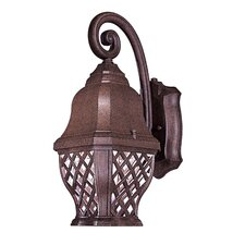 Arbor Hill 1 Light Outdoor Wall Sconce