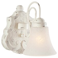 Accents Provence 1 Light Bath Vanity Light