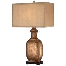 """1 Light 29"""" H Table Lamp with Rectangular Shade"""
