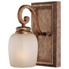 <strong>Minka Lavery</strong> Cornerstone 1 Light Bath Vanity Light