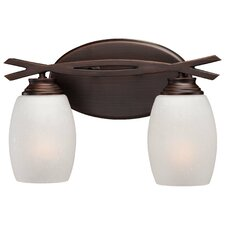 City Club 2 Light Bath Vanity Light