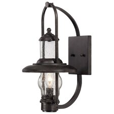 Settlers Way 1 Light Outdoor Wall Sconce