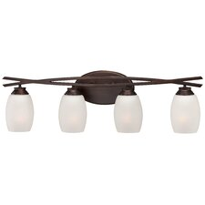 City Club 4 Light Bath Vanity Light