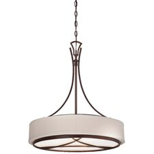 City Club 3 Light Pendant