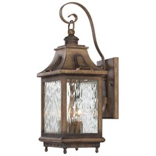 Wilshire Park 3 Light Outdoor Wall Sconce