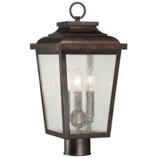 Irvington Manor 3 Light Outdoor Post Lantern