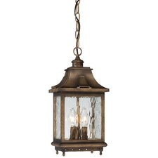 <strong>Minka Lavery</strong> Wilshire Park 3 Light Chain Hung Outdoor Lantern