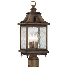 Wilshire Park 3 Light Outdoor Post Lantern