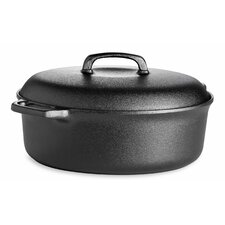 5L Oval Casserole with Cast Iron Lid