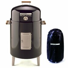 Smoke 'N Grill Charcoal Smoker and Grill with Vinyl Cover