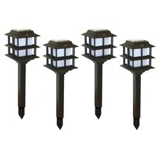 Modern Tier Solar Light (Set of 4)