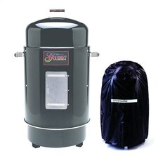 <strong>Brinkmann</strong> Gourmet Charcoal Smoker & Grill with Vinyl Cover