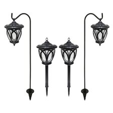 Round Lantern Solar Light Set