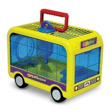 <strong>Super Pet</strong> Crittertrail Off to School Small Animal Modular Habitat