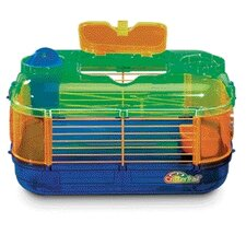 Crittertrail Mini Carry and Connect Small Animal Cage with Water Bottle