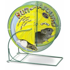 "11"" Run-Around Giant Exercise Chinchilla Wheel"