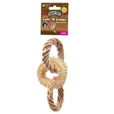 Natural Lots O Loops Toss Small Pet Toy