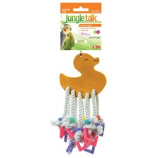 JungleTalk Lots of Legs Assorted Bird Toy