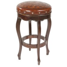 "<strong>New World Trading</strong> Colonial 26"" Bar Stool with Cushion"