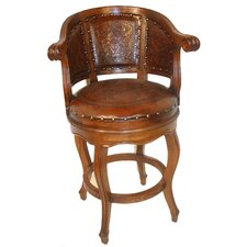 Cardinal Bar Stool with Cushion
