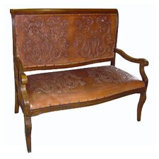 <strong>New World Trading</strong> Colonial Imperial Hardwood Bench