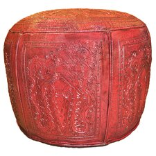 Colonial Cotton Ottoman