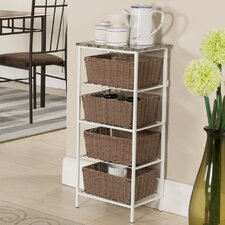 4 Tier Storage with Basket